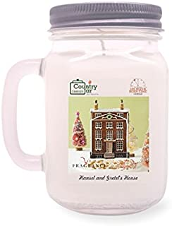 Country Jar Hansel and GRETEL'S House Mason Jar Candle (16 oz.) 100% Natural Soy (3 OR More Sale!)