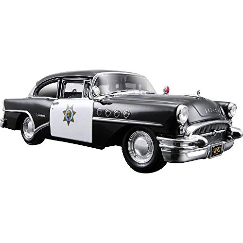 Tavitoys- 1/24 Special 1955 Buick TM Negro (31295BK), Color (Maisto 1)
