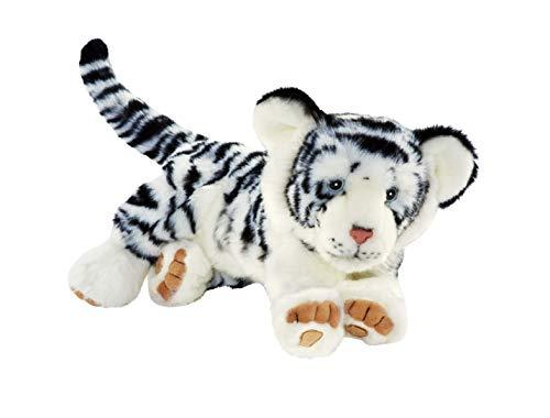 Anima - Peluche Tigre Blanc Ushuaé¯a - 35 cm 35xcm