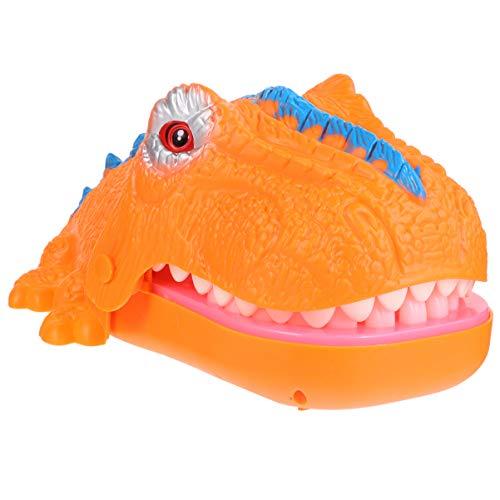 TOYANDONA Dinosaurier Zähne Spielzeug Spiel Zahnarzt Beißen Finger Spaß Witz Spielzeug mit Ton Und Licht Weihnachtsfeier Gefälligkeiten für Kinder Kinder