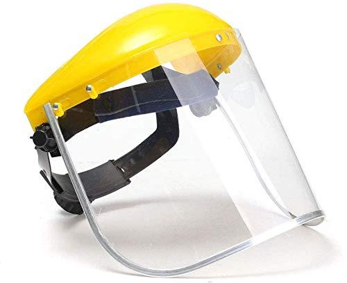 LIUJIE Security Shield Trasparente, Protezione Completa Visiera Non Schizzi Anti-UV Anti-Shock, Resistenza alle Alte Temperature