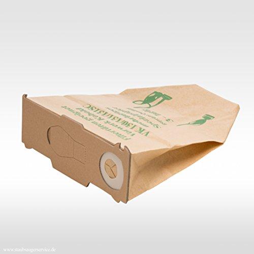 6 Staubsaugerbeutel Premium geeignet für Vorwerk Kobold 130, 131 und 131sc