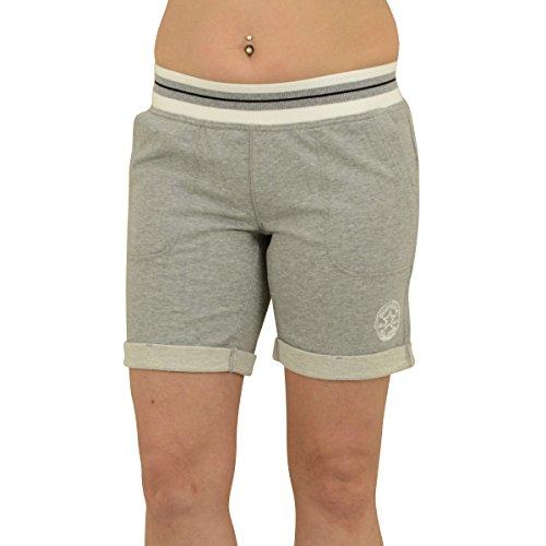 Converse Frauen Shorts Jogginghose Core Plus Short grau meliert - XS