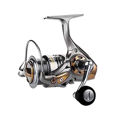 ZLQBHJ Carrete de Pesca Peso Ligero Ultra Liso Aluminio Spinning Reel de Pesca