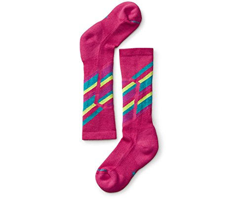 Smartwool Kid's Ski Racer Socks (Potion Pink) Small