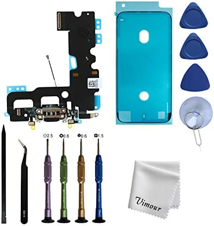 Vimour OEM Original Charging Port USB Dock Connector Flex Cable Assembly Replacement for iPhone product image