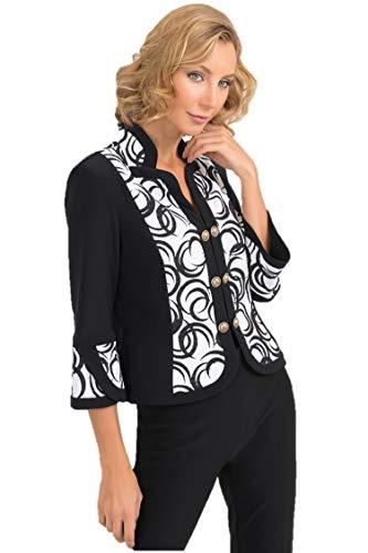 Joseph Ribkoff Black & White Vest Style - 193701 Fall 2019 Collection (18)