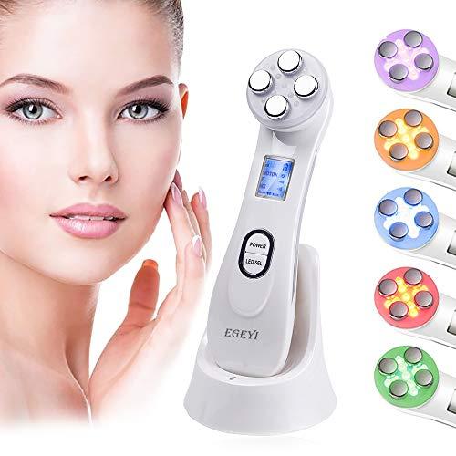 Aparato Facial Ultrasonido, Aparato Facial Antiarrugas terapia de luz Radiofrecuencia Facial y Corporal Mesoterapia Facial Aparato Radiofrecuencia Facial Aparatos, Estetica Rejuvenecedor Facial