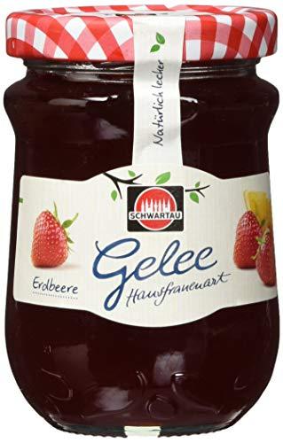 Schwartau Gelee nach Hausfrauenart Erdbeere, 6er Pack (6 x 200 g)