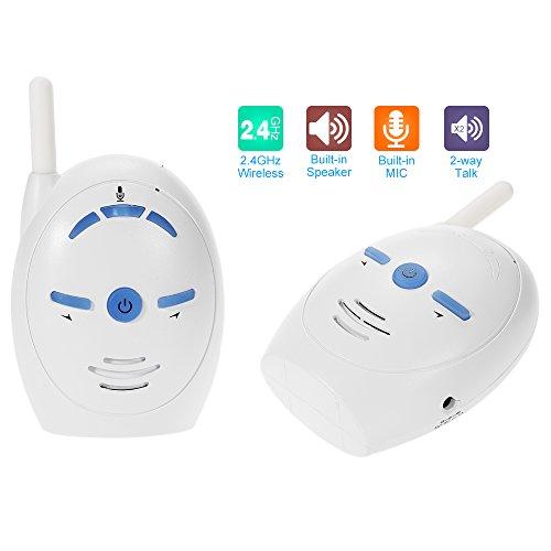 KKmoon Vigilabebés Audio Monitor de bebé Inalámbrica