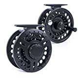 BestCity Fly Fishing Reel 7/8 Wide Arbour -Tough durable but light