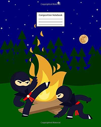 Composition Notebook: Ninja   8