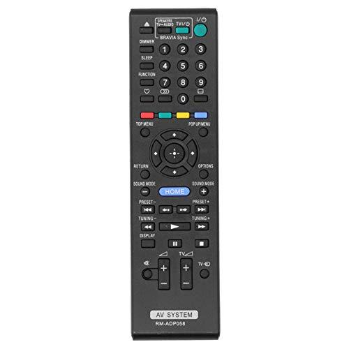 Hyuduo1 rm-adp058 Mando a Distancia de Repuesto Negro, Mando a Distancia de televisión Duradero Hecho de Material ABS, televisores LCD de Varias Marcas