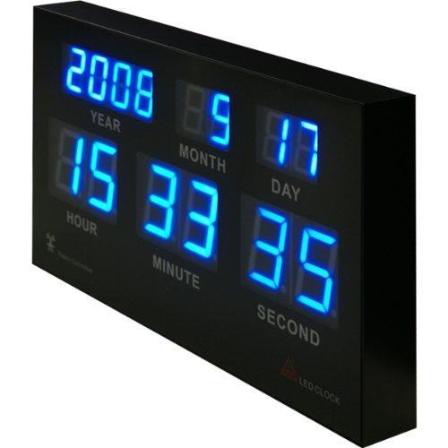 ottostyle.jp(オットースタイル)『7セグデジタルカレンダー電波クロック』