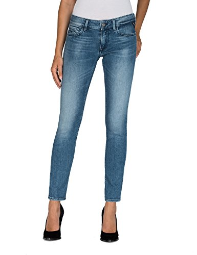 REPLAY Luz Vaqueros Skinny, Azul (Light Blue 10), W26/L34 (Talla del Fabricante: 26) para Mujer