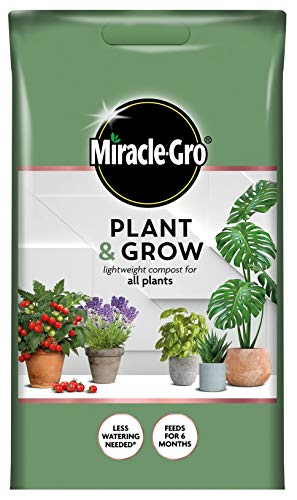 Miracle-Gro Plant & Grow Lightweight All Plant Compost 6L Easy Carry P