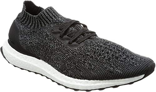 adidas Men's Ultraboost Uncaged Running Shoes, Negbas Grpudg Gritre, 4 UK