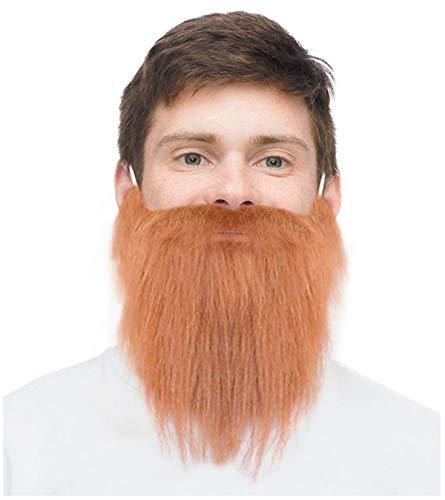 Ginger Fake Beard Irish Beard Turner Beard St Patrick's Day Leprechaun Beard