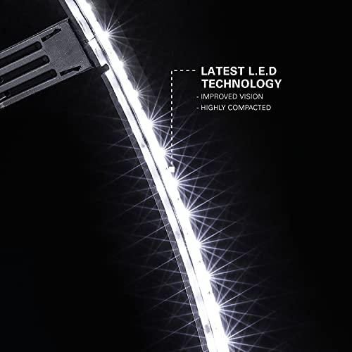 Target Corona – Dartscheiben-Beleuchtungssystem – 360 Grad LED – kein Schatten – schwarz
