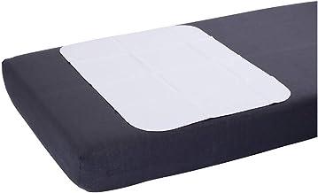 Inkontinenz Bettschutzunterlage 90x150 cm   Waschbare Bettunterlage Molton/PVC   Idealer Bettschutz bei nächtlicher Inkontinenz   Geschnittene Bettschutzauflage von ActivePro
