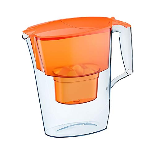CPAP H2O Water Purification Pitcher for CPAP & BiPAP Humidifier Water Chambers, Filter Lasts up to 60 Days (Orange)