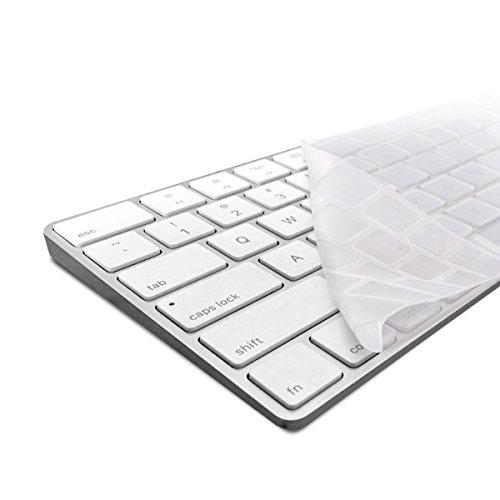 kwmobile Protezione per Tastiera QWERTY (US) in Silicone Compatibile con Apple Magic Keyboard