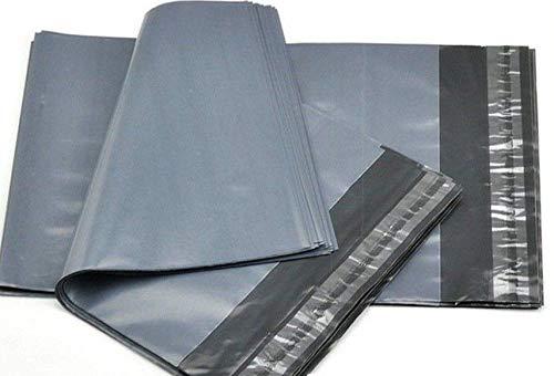 43 cm x 56 cm średnie duże rozmiary duże torby na paczki Trendwearz Mailing Poly pocztowa samouszczelniające się szare koperty koperty. Plastikowe worki na listy polietylenowe ... (10)