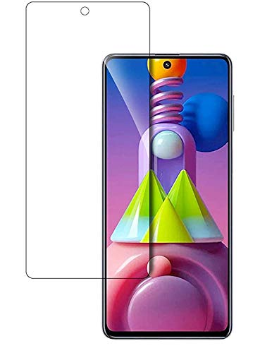 NISHTECH 9H Hardness 2.5D Screen Protector Flexible Tempered Glass for Samsung Galaxy M51 (2020)