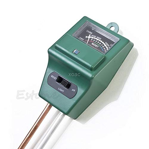 Great Deal! KINWAT 3 in 1 PH Soil Tester Water Moisture Test Light Meter for Garden Plant Flower M12...