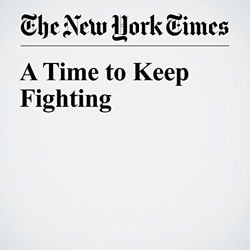 A Time to Keep Fighting cover art