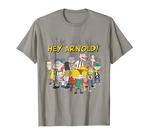 Nickelodeon Hey Arnold Cast Hangout T-Shirt