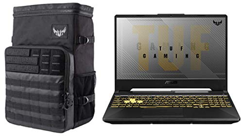 """ASUS TUF Gaming F15 Laptop 15.6"""" Laptop with Backpack"""