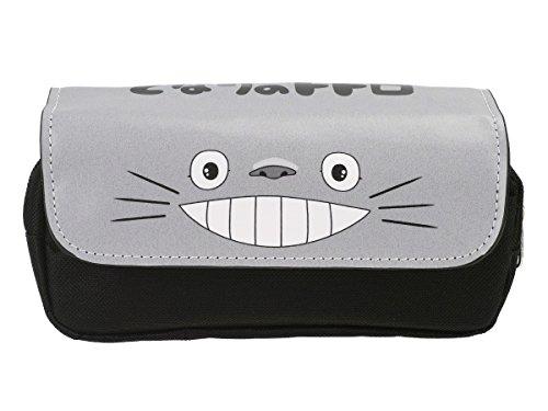 CoolChange Grande Trousse Mon Voisin Totoro | Étui à Crayons avec Couverture en Cuir PU
