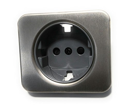 Simon - 75041-63 tapa enchufe 2p+tt schuko s-75 aluminio Ref. 6557533231