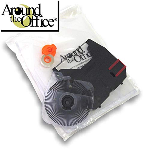 Around The Office Compatible Replacement for Brother GX-6750 Typewriter #411 Brougham Printwheel Daisywheel 1 Ribbon 1 Correction Tape & Dust Cover for Model GX-6750