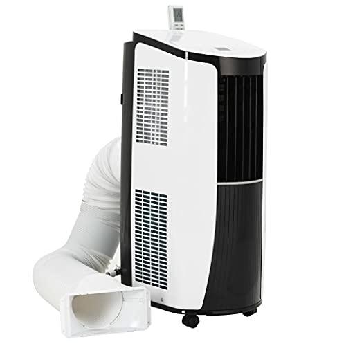 vidaXL Mobile Klimaanlage 2600W Luftkühler Ventilator Klimagerät Fernbedienung