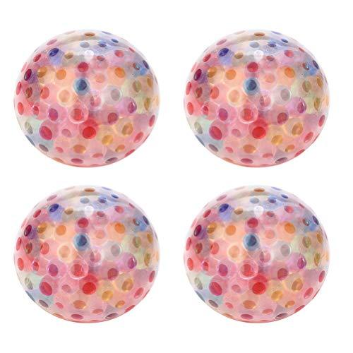 4PCS Rainbow Squeeze Ball Juguete para aliviar el estrés para niños Adultos Juguete para aliviar la ansiedad