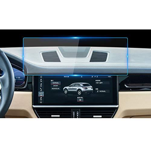 Glingfjz para Porsche Cayenne 2018 Protector de Pantalla de navegación para Coche Pantalla de visualización de Control Central Película Protectora de Pantalla de Vidrio Templado