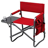 Picnic at Ascot Original Extra Wide Portable Folding Sports Chair- Designed & Quality Checked in the USA