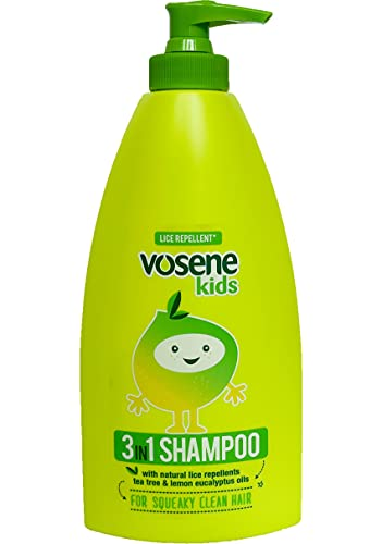 Vosene Kids 3 in 1 Conditioning Shampoo Head Lice Repellent 400ml