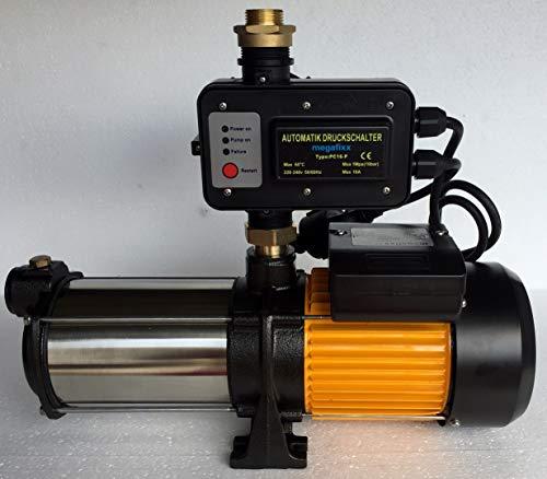 Hauswasserautomat megafixx HMC6SC-PC16 1350 Watt 6,5 BAR Trockenlaufschutz