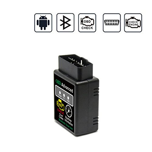 Saiko Scanner Bluetooth ELM327 OBDII OBD2 Instrument de diagnostique automobile Lecteur de code