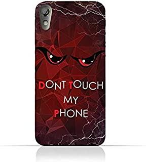 Lenovo P70 TPU Silicone Case With Don't Touch My Phone 3 Design
