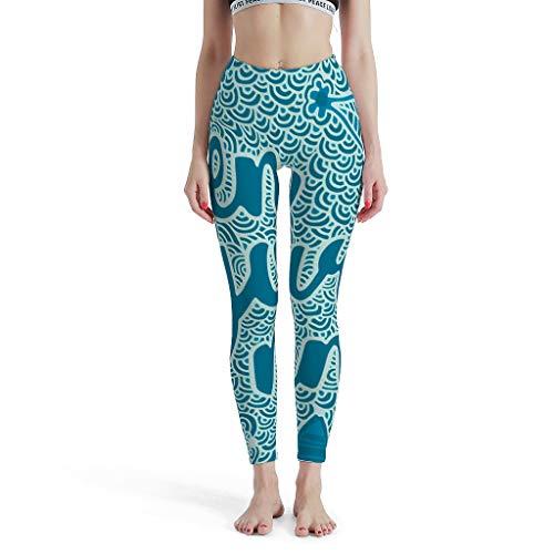 RQPPY High Elastic Yoga Hose Damen Training Tights für Sport
