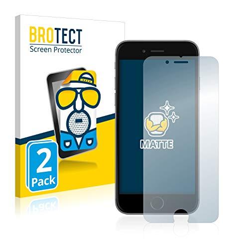 brotect Pellicola Protettiva Opaca Compatibile con Apple iPhone 6S Pellicola Protettiva Anti-Riflesso (2 Pezzi)