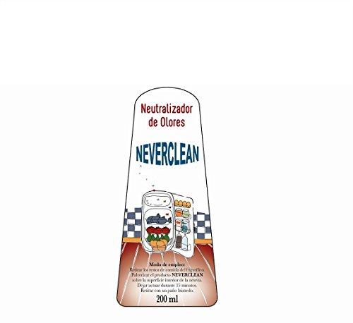 Neverclean. Neutralizador de olores para frigoríficos. 200ml. Para ...
