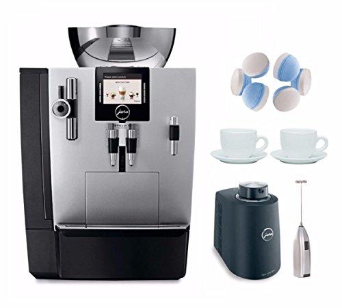 Jura XJ9 Pro Espresso Machine (Refurbished) + Milk Container & Accessory Bundle