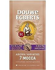 Douwe Egberts Filterkoffie Aroma Variaties Mocca Premium (3 Kilogram, Intensiteit 07/09, Dark Roast Koffie), 12 x 250 Gram