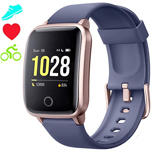 Smartwatch Cronometro Orologio Fitness Donna Uomo, Smart Watch GPS Fitness Tracker Impermeabile IP68 Cardiofrequenzimetro da...