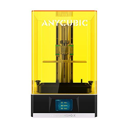 ANYCUBIC 3D Printer Photon MONO X, Faster Printing UV LCD Resin Printer with 4K Monochrome Screen, Z-axis Dual Linear Rail, Air Filtering, Matrix UV Light Source,Print Size 192 * 120 * 250mm